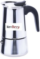 Kenberry 166 6 Cups Coffee Maker(Silver)