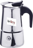 Kenberry 164 2 Cups Coffee Maker(Silver)