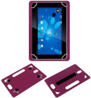 ACM Back Cover for Lava Qpad E702(Pink, Grip Case, Artificial Leather)