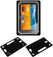 ACM Back Cover for Hcl Me Connect 3g 2.0 Y4(Black, Grip Case, Artificial Leather)