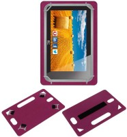 ACM Back Cover for Hcl Me Connect 3g 2.0 Y4(Pink, Grip Case, Artificial Leather)