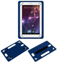 ACM Back Cover for Lava Xtron Z704(Blue, Grip Case, Artificial Leather)