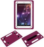 ACM Back Cover for Lava Xtron Z704(Pink, Grip Case, Artificial Leather)