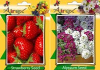 Airex Strawberry, Alyssum Seed(25 per packet)