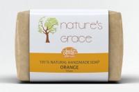 Natures Grace Handmade Orange Soap(100 g) - Price 99 45 % Off
