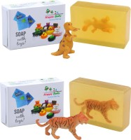 Happy Baby Luxurious Kids Soap With Toy Yellow (Y13)(200 g, Pack of 2)