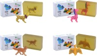 Happy Baby Luxurious Kids Soap With Toy Yellow (Y41)(400 g, Pack of 4) - Price 168 83 % Off