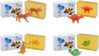 Happy Baby Luxurious Kids Soap With Toy Yellow (Y47)(400 g, Pack of 4) - Price 295 77 % Off