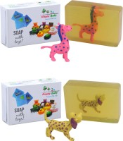 Happy Baby Luxurious Kids Soap With Toy Yellow (Y1)(200 g, Pack of 2) - Price 149 85 % Off