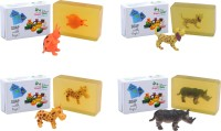 Happy Baby Luxurious Kids Soap With Toy Yellow (Y52)(400 g, Pack of 4) - Price 295 77 % Off