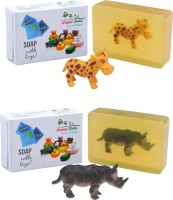 Happy Baby Luxurious Kids Soap With Toy Yellow (Y23)(200 g, Pack of 2) - Price 125 82 % Off