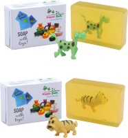 Happy Baby Luxurious Kids Soap With Toy Yellow (Y7)(200 g, Pack of 2) - Price 125 82 % Off