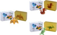 Happy Baby Luxurious Kids Soap With Toy Yellow (Y26)(300 g, Pack of 3)