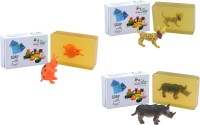 Happy Baby Luxurious Kids Soap With Toy Yellow (Y40)(300 g, Pack of 3) - Price 168 83 % Off