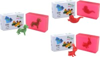 Happy Baby Luxurious Kids Soap With Toy Pink (P38)(300 g, Pack of 3) - Price 168 83 % Off
