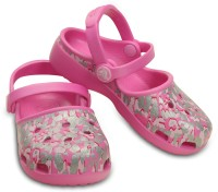 Crocs Girls Slip-on Clogs(Pink)