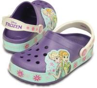 Crocs Girls Slip-on Clogs(Purple)