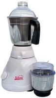 Silver Home Dx 450 Mixer Grinder(White, 2 Jars)
