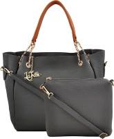LaFille Hand-held Bag(Grey)