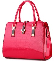 Tanned Hand-held Bag(Pink)