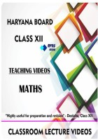 AVNS INDIA Haryana Board Class 12 - Maths Full Syllabus Teaching Video (DVD)(DVD)