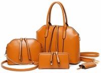 Tanned Hand-held Bag(Tan)