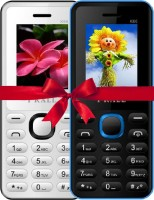 I Kall K66 Combo Of Two Mobile(Blue, White) - Price 999 37 % Off