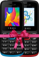I Kall K11 Combo Of Two Mobile(Blue, Red) - Price 1149 28 % Off