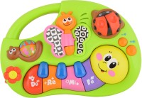 Miss & Chief Finger Illuminating and Learning Piano with Music/Light/Story Toy For Baby(Multicolor)