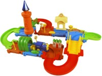 Miss & Chief Battery operated Block Train Track set 41pcs(Multicolor)