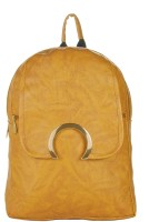 JG Shoppe HalfMoon05 8 L Backpack(Khaki)