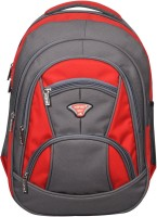 Spyki NP44 Waterproof School Bag(Red, 35 L)