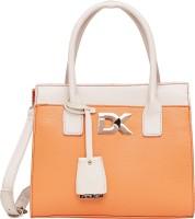 Diana Korr Hand-held Bag(Orange, White)