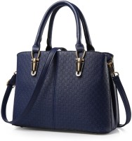 Tanned Hand-held Bag(Blue)