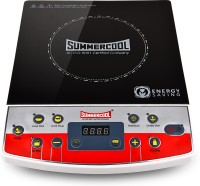 Summercool SC-907 Induction Cooktop(Red, Black, Push Button)