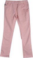 US Polo Kids Slim Girls Pink Jeans