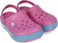 Crocs Boys & Girls Slip-on Clogs(Pink)