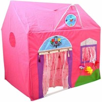 Paradise Latest Pink Jumbo Size Queen Palace Tent House for Kids(Pink)