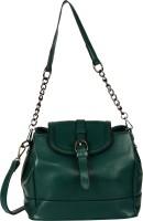 Omnesta Women Green PU Sling Bag