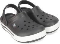 Crocs Boys & Girls Slip-on Clogs(Black)