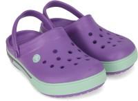 Crocs Boys & Girls Slip-on Clogs(Purple)