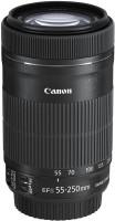 Canon EF-S 55-250mm f/4-5.6 IS STM    Lens(Black, 55-250)
