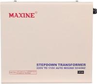 View maxine 1000w MAXINE 1000 Watts (1 Kva ) Auto Wound Voltage Converter 220 V To 110 V Step Down Toroidial Transformer(White) Home Appliances Price Online(Maxine)