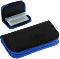 ELV Portable Card Holder 4 inch For SD Card(For SD Cards, Memory Cards, Black, Blue)