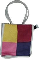 TTB Eco Friendly Box Pattern Waterproof Multipurpose Bag(Multicolor, 9 L)