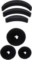 chanderkash donut and banana bumpits hair Accessory set black Hair Accessory Set(Black) - Price 184 81 % Off