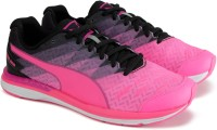Puma Boys & Girls Lace Running Shoes(Pink)