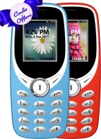 I Kall K31 Combo of Two Mobile(Red, Light Blue) - Price 1199 25 % Off