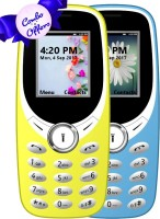 I Kall K31 Combo of Two Mobile(Light Blue, Yellow) - Price 1151 28 % Off