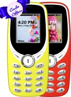 I Kall K31 Combo of Two Mobile(Red, Yellow) - Price 1151 28 % Off